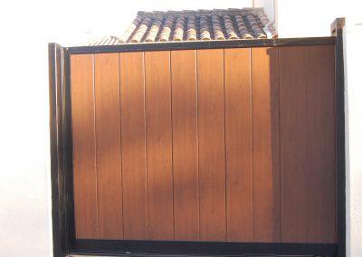 Puertas Correderas Panel Madera